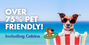 Dog Pet Friendly Camping and Cabins across Australia & New Zealand
