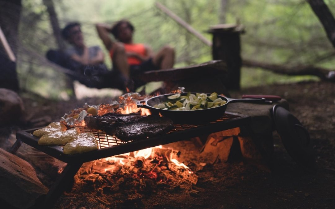 BE PREPARED TO ENJOY CAMP FOOD WITH A TWIST